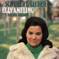 Schubert: 16 Lieder - Elly Ameling (soprano) and Dalton Baldwin (p) PHILIPS