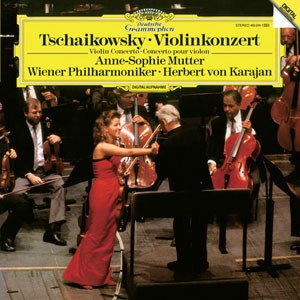 Anne-Sophie Mutter Tchaikovsky Violin Concerto 180g  LP DGG ANALOGPHONIC