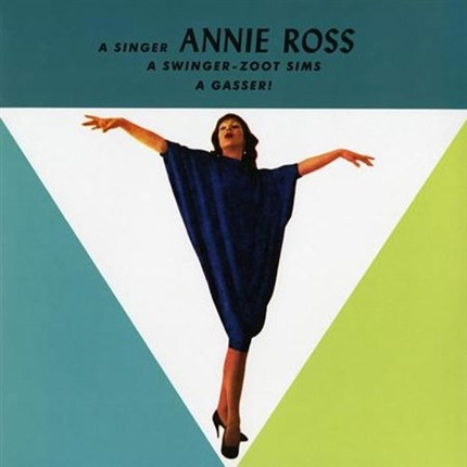 Annie Ross feauting Zoot Sims: A Gasser Pure Pleasure180g LP