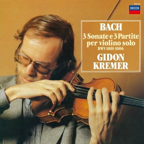 Johann Sebastian Bach 3 Sonatas Amp Partitas For Solo Violin