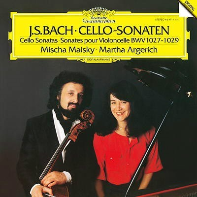 Bach Cello Sonatas BMV 1027-1029 180g ANALOGPHONIC LP