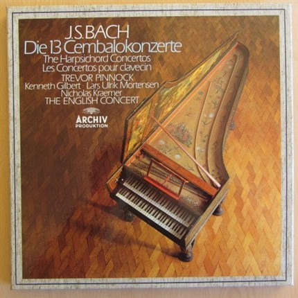 Bach The Harpsichord Concertos English Concert Trevor Pinnock ARCHIV