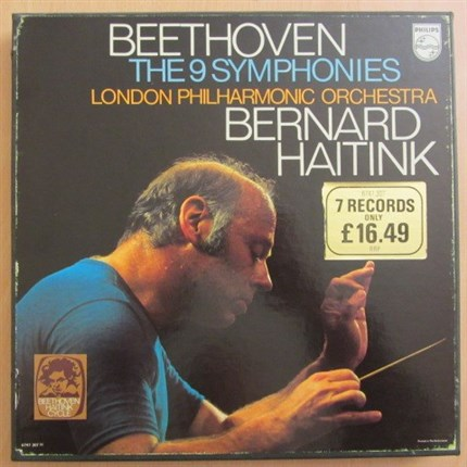 Beethoven Complete nine symphonies London Philharmonic Orchestra Bernard Haitink PHILIPS