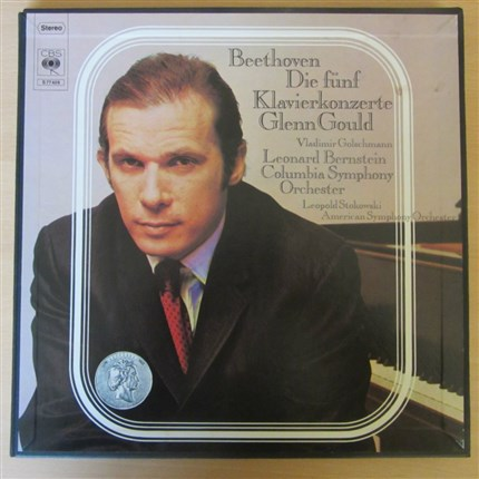 Beethoven Complete piano concertos Glenn Gould CBS