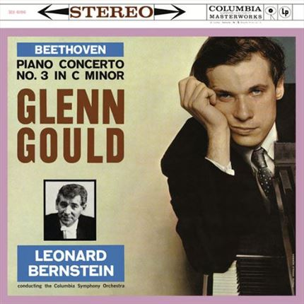 Ludwig van Beethoven Piano Concerto No. 3 in C minor  Glenn Gould Columbia Symphony Orchestra Leonard Bernstein