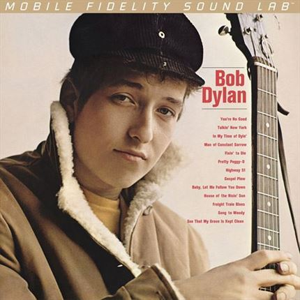 Bob Dylan Bob Dylan Mobile Fidelity Numbered Limited Edition 2 LP 45 rpm