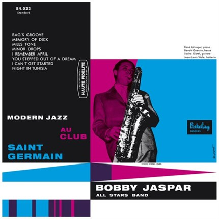 Bobby Jaspar  Modern Jazz au Club St Germain SAM RECORDS 180 gr LP