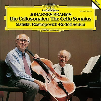 Brahms The Cello Sonatas 180g ANALOGPHONIC LP