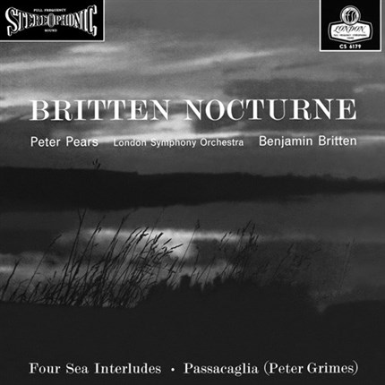 Britten Nocturne Numbered Limited Edition 180g 45rpm 2LP ORG