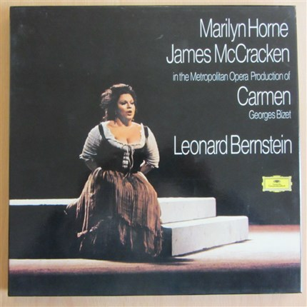 Georges Bizet  CARMEN  Marilyn Horne,  James Mc Cracken. Metropolitan Opera House Leonard Bernstein DGG