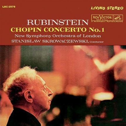 CHOPIN Piano Concerto No. 1 Arthur Rubinstein New Symphony Orchestra of London Stanislaw Skrowaczewski RCA ANALOGUE PRODUCTIONS