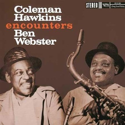 Coleman Hawkins Coleman Hawkins Encounters Ben Webster ANALOGUE PRODUCTIONS Numbered Limited Edition 200g 45rpm 2LP