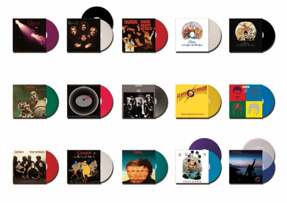 Queen The Studio Collection 18 Disc Box Set High