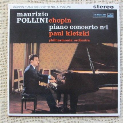 CHOPIN Piano Concerto No.1 in E Minor, Op.11 Maurizio Pollini Philharmonia Orchestra Paul Kletzki TESTAMENT