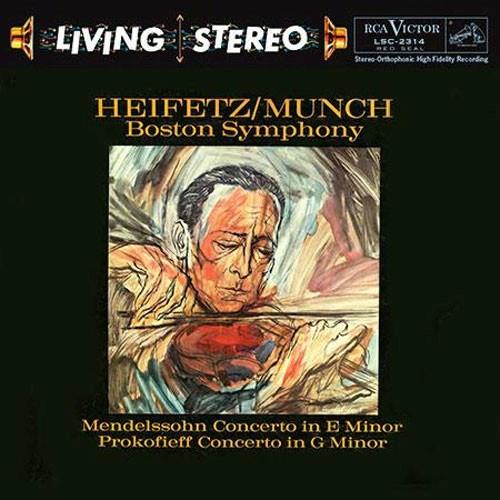 Jascha Heifetz Mendelssohn Amp Prokofieff Violin Concertos