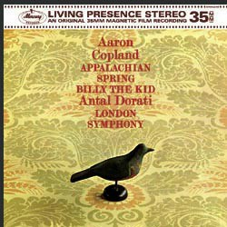 Copland: Appalachian Spring, Billy the Kid - The London Symphony Orchestra conducted by Antal Dorati MERCURY RECORDS SPEAKERS CORNER