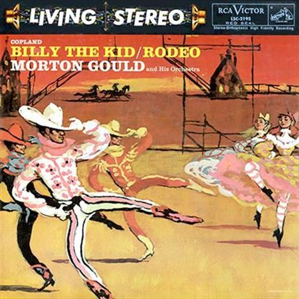 Copland Billy The Kid - Rodeo Morton Gould Analogue Productions 200g LP