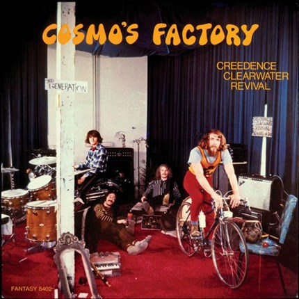 Creedence Clearwater Revival Cosmo's Factory 180g LP FANTASY