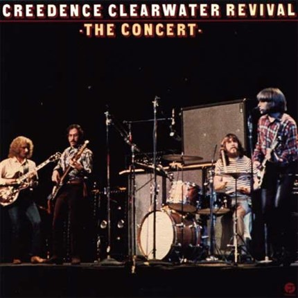 "Creedence Clearwater Revival The Concert 180g LP ""4 Men With Beards"""
