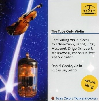 DANIEL GAEDE TUBE ONLY VIOLIN TACET 180g LP