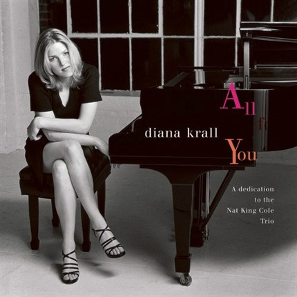 Diana Krall All For You A Dedication To The Nat King Cole Trio Numbered Limited Edition ORIGINAL RECORDING GROUP 180g 45rpm 2LP