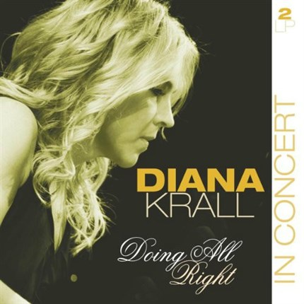 Diana Krall  Doing All Right In Concert Live  San Sebastian July 24 TH 2008  VINYL PASSION