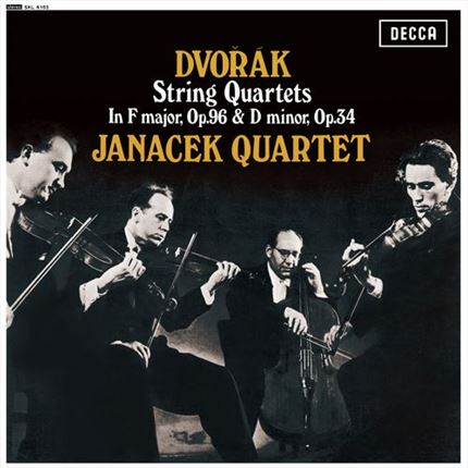Dvorak String Quartets Op. 34 & 96 The Janacek Quartet DECCA  ANALOGPHONIC LP REISSUE