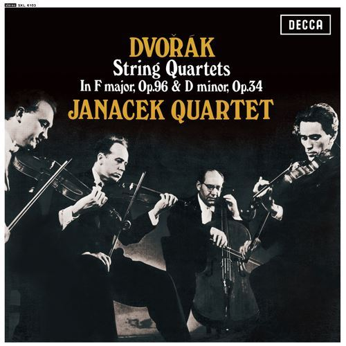 Dvorak String Quartets Op. 34 & 96 The Janacek Quartet