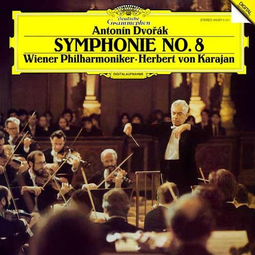 Hebert Von Karajan Dvorak Symphony No 8 180g Lp Analogphonic