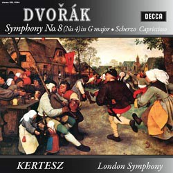 Antonín Dvorák: Symphony No. 8 (No. 4) op.88, Scherzo capriccioso op. 66 - The London Symphony Orchestra conducted by Istvan Kertész DECCA SPEAKERS CORNER