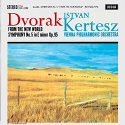 "Antonin Dvorák  Symphony No. 9 ""From the New World""   Vienna Philharmonic Orchestra conducted by Istvan Kertész DECCA SPEAKERS CORNER"