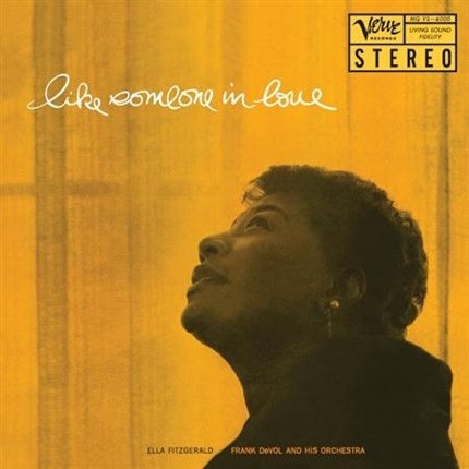 Ella Fitzgerald Like Someone In Love Numbered Limited Edition 200g 45rpm LP