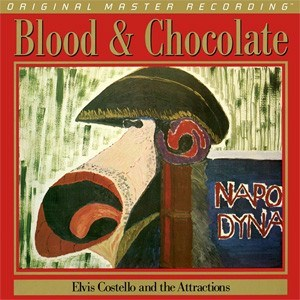 Elvis Costello & The Attractions Blood & Chocolate  Numbered Limited Edition  MOBILE FIDELITY 180g LP