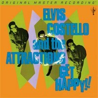 Elvis Costello & The Attractions Get Happy!  Numbered Limited Edition 45rpm  MOBILE FIDELITY 180g 2LP