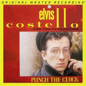 Elvis Costello & The Attractions Punch The Clock  Numbered Limited Edition  MOBILE FIDELITY180g LP