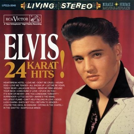 Elvis Presley Elvis 24 Karat Hits! Hybrid Stereo & Mono SACD ANALOGUE PRODUCTIONS