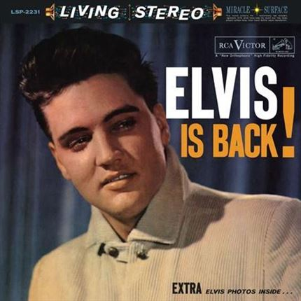 Elvis Presley Elvis Is Back! Analogue Productions Hybrid Stereo SACD
