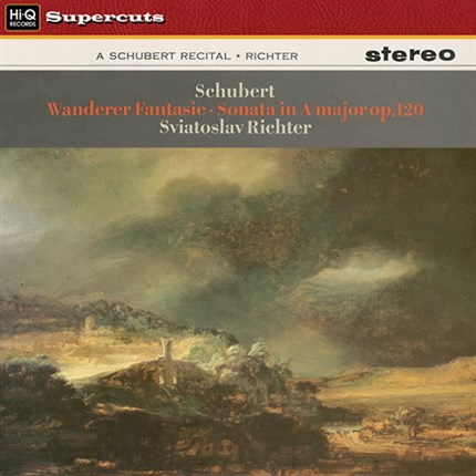 Schubert Fantasia in D Major, D760 & Sonata in A Major, D664 Sviatoslav Richter  EMI HI-Q Records