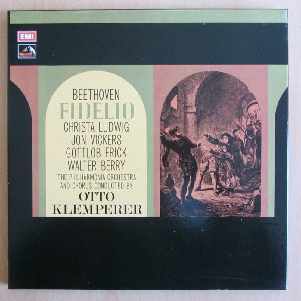 Beethoven Fidelio Ludwig Vickers Frick Berry Crass
