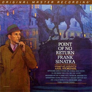 Frank Sinatra Point of No Return Numbered Limited Edition 180g LP MOBILE FIDELITY