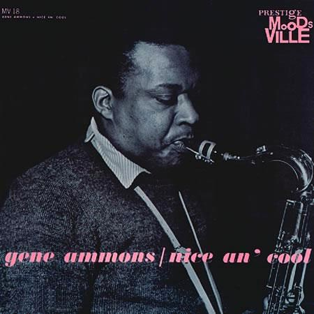 Gene Ammons Nice An Cool Numbered Limited Edition 200g Lp
