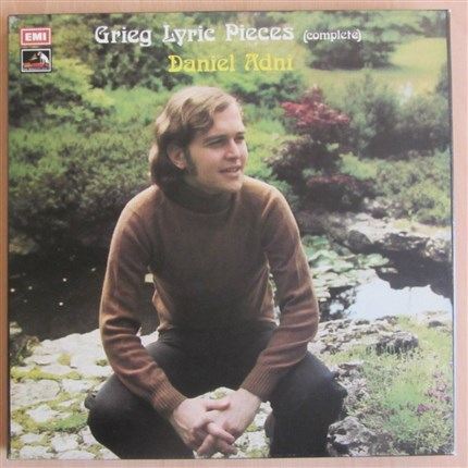 Grieg Lyric Pieces (Complete) Daniel Adni EMI 4 LP