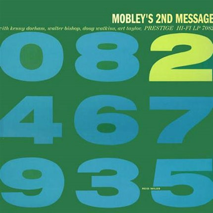 Hank Mobley Mobley's 2nd Message 200g LP (Mono) ANALOGUE PRODUCTIONS PRESTIGE