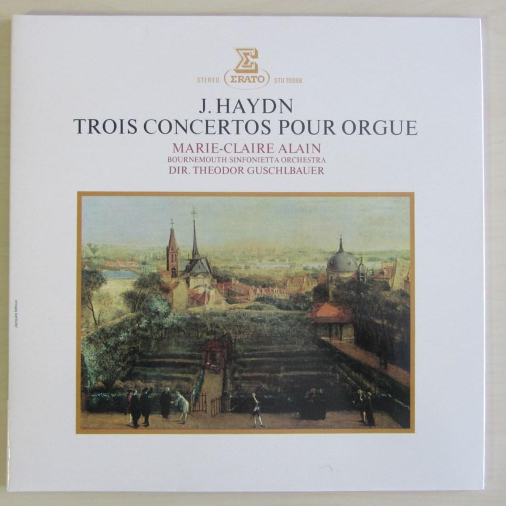 Joseph Haydn Tres Conciertos Para 243 Rgano Marie Claire
