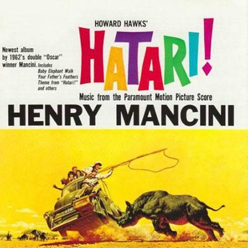 Henry Mancini Hatari Soundtrack 200g Lp Analogue Productions
