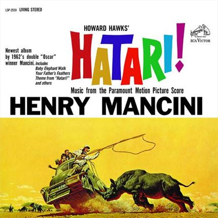 Henry Mancini Hatari! Soundtrack Analogue Productions 200g 45rpm 2LP