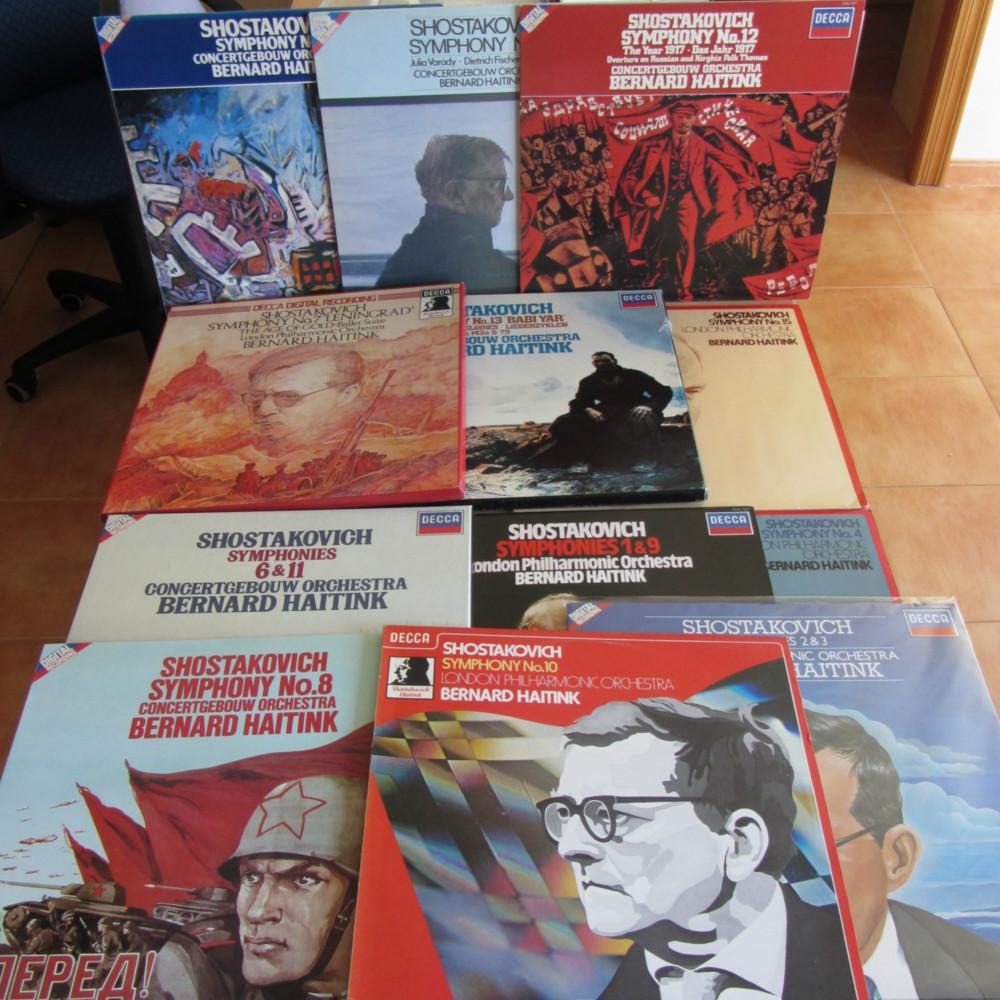 Shostakovich Complete Symphonies London Philharmonic