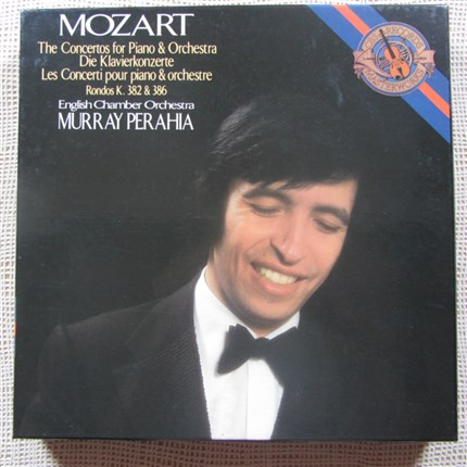 Mozart Complete Piano Concertos English Chamber Orchestra Murray Perahia CBS