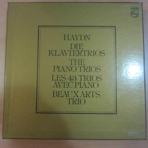 Haydn 43 Piano Trios Beaux Arts Trio Philips 14 Lp