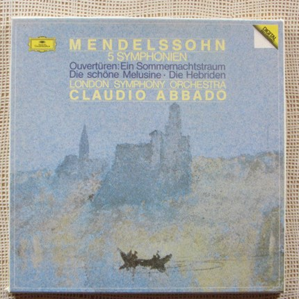 Mendelssohn Complete Symphonies and Overtures. Claudio Abbado London Symphony Orchestra DGG